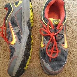 Worn once Nike shoes